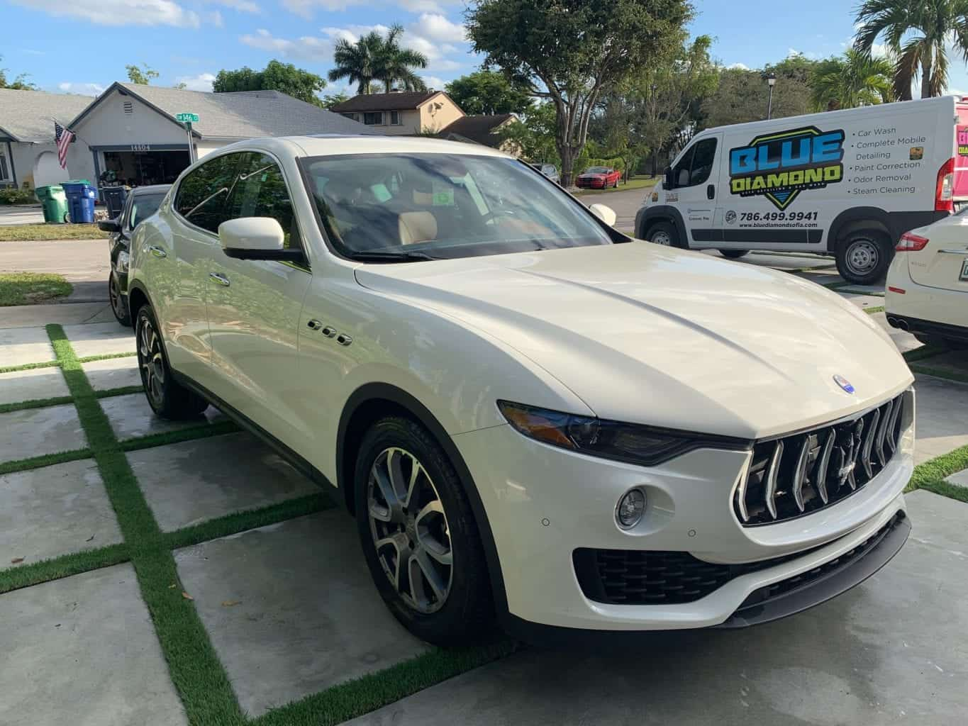 Blue Diamond Auto Detail Car Wash Key Biscayne