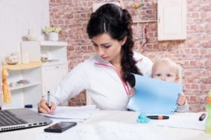 busy-mom-working