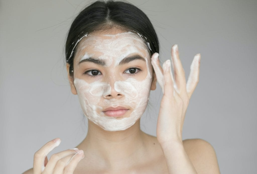 Soap face woman clean skin skincare tips and tricks